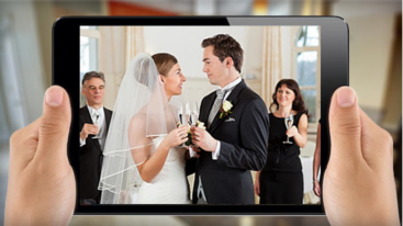Virtual wedding guests