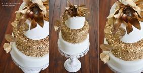 Sequined Cake (La Petite Patisserie)