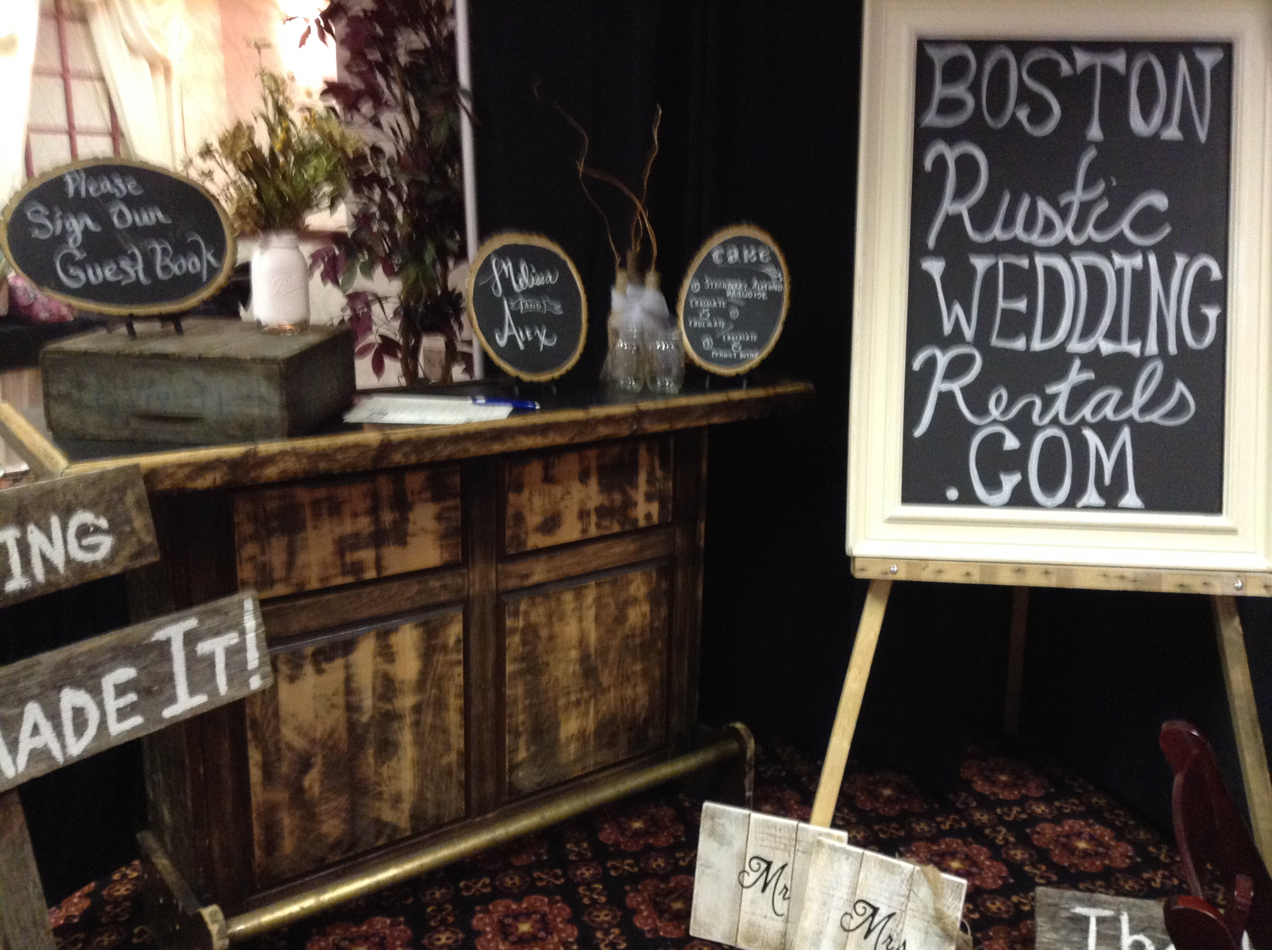 Boston Rustic Wedding Rentals Inspiration Boards The Kiosk