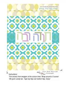 Share the Joy Mitzvah Wrap