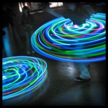 led spin